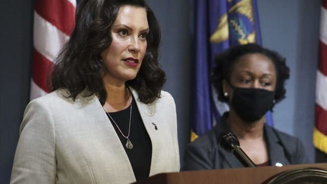 Governor Gretchen Whitmer announced that Michigan schools may resume in-person learning in phase 4 of the MI Safe Start plan, with strict safety measures in place.
