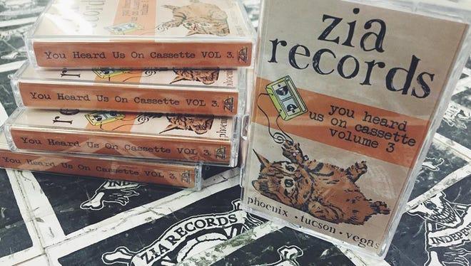 Zia Records cassette compilation.