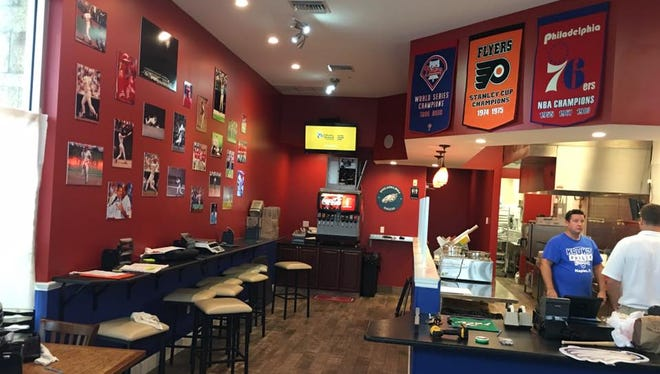 Kruk's Philly Steaks opened Wednesday at Gulf Coast Town Center.