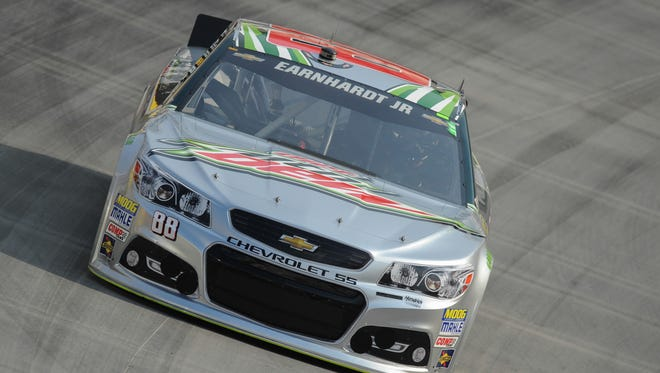 Dale Earnhardt Jr. had a solid top-10 finish Saturday at the Irwin Tools Night Race at Bristol Motor Speedway.
