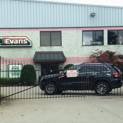 FBI agents search Evans Landscaping in Newtown Tuesday