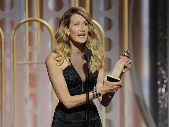 Laura Dern won best supporting actress in a Series,