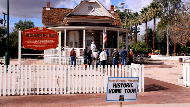 The 17th annual Mesa Historical Museum Home Tour on Jan. 28 spans Mesa history from the 1896 Joel E. Sirrine House to the 1960 Shuller House in Fraser Fields Historic District.