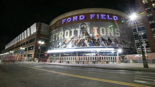 Ford Field in Detroit