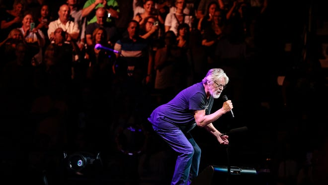 Bob Seger and the Silver Bullet Band perform at the Palace of Auburn Hills, Saturday, September 23, 2017.