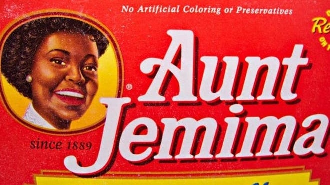 By 1989, the image of Aunt Jemima had evolved into more of a working mom, its present-day logo.