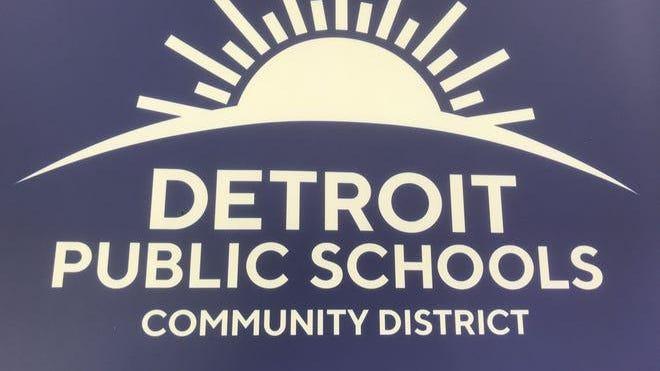 The new logo for Detroit Public Schools Community District features a rising sun.