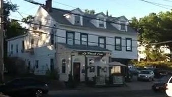 The Delancey House in Mamaroneck, where the novelist James Fenimore Cooper lived for a time.