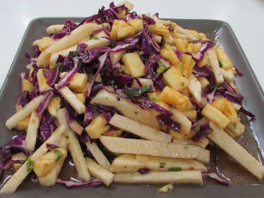 Pic 4a Jicama + Pineapple Salad