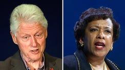 Bill Clinton and Loretta Lynch met Monday.