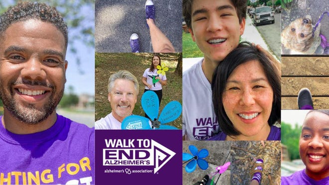 The Alzheimer's Association will hold it's annual Walk to End Alzheimer's on Sept. 19. To register visit
