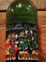 Noisy Water Winery's Besito Caliente green chile wine.
