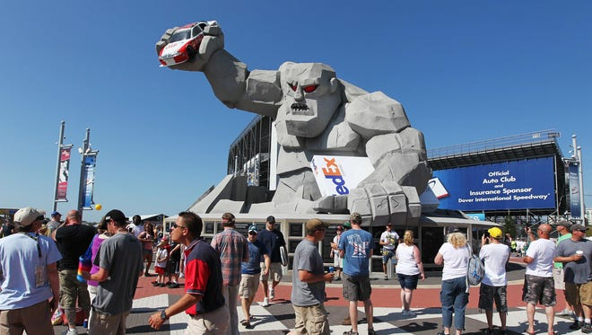 Dover International Speedway, site of Sunday's FedEx 400, is also known as The Monster Mile.