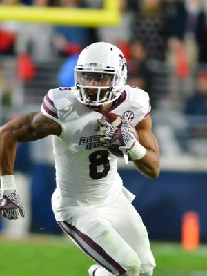 Mississippi State wide receiver Fred Ross was named second-team All-SEC by the league's coaches.