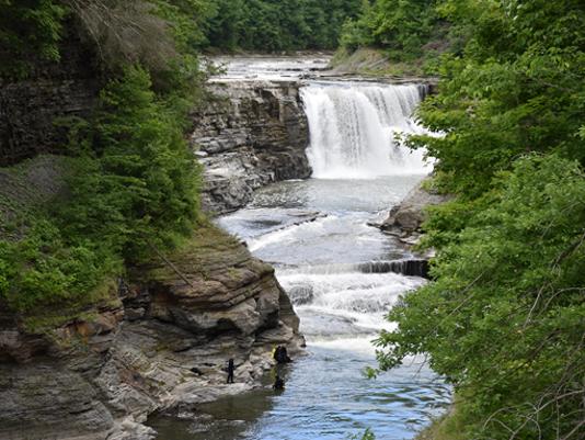 Letchworth's Lower Falls