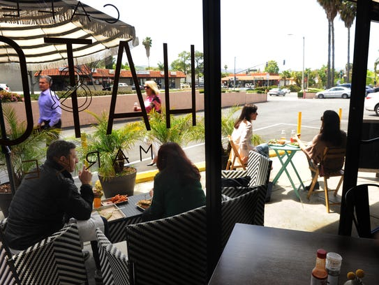 Hatch Cafe & Market in Agoura Hills includes an outside