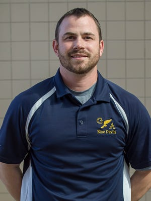 Devin McCauley of Greencastle-Antrim will take over as the Blue Devils' next head coach, pending school board approval.
