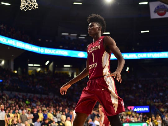 Jonathan Isaac became the highest player selected in