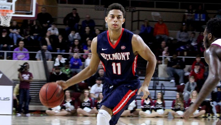 Sophomore guard Kevin McClain came off the bench and scored 11 points in Belmont's win Saturday at Eastern Kentucky. It was the Bruins seventh straight win.