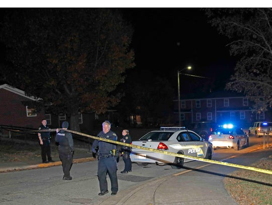 A man who was found shot on Chapel Street Friday night