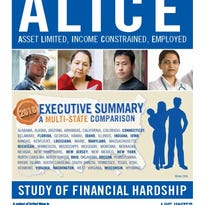 ALICE report shows more struggling families