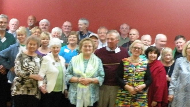 The Houston County High School Class of 1966 held its reunion during Irish Day.