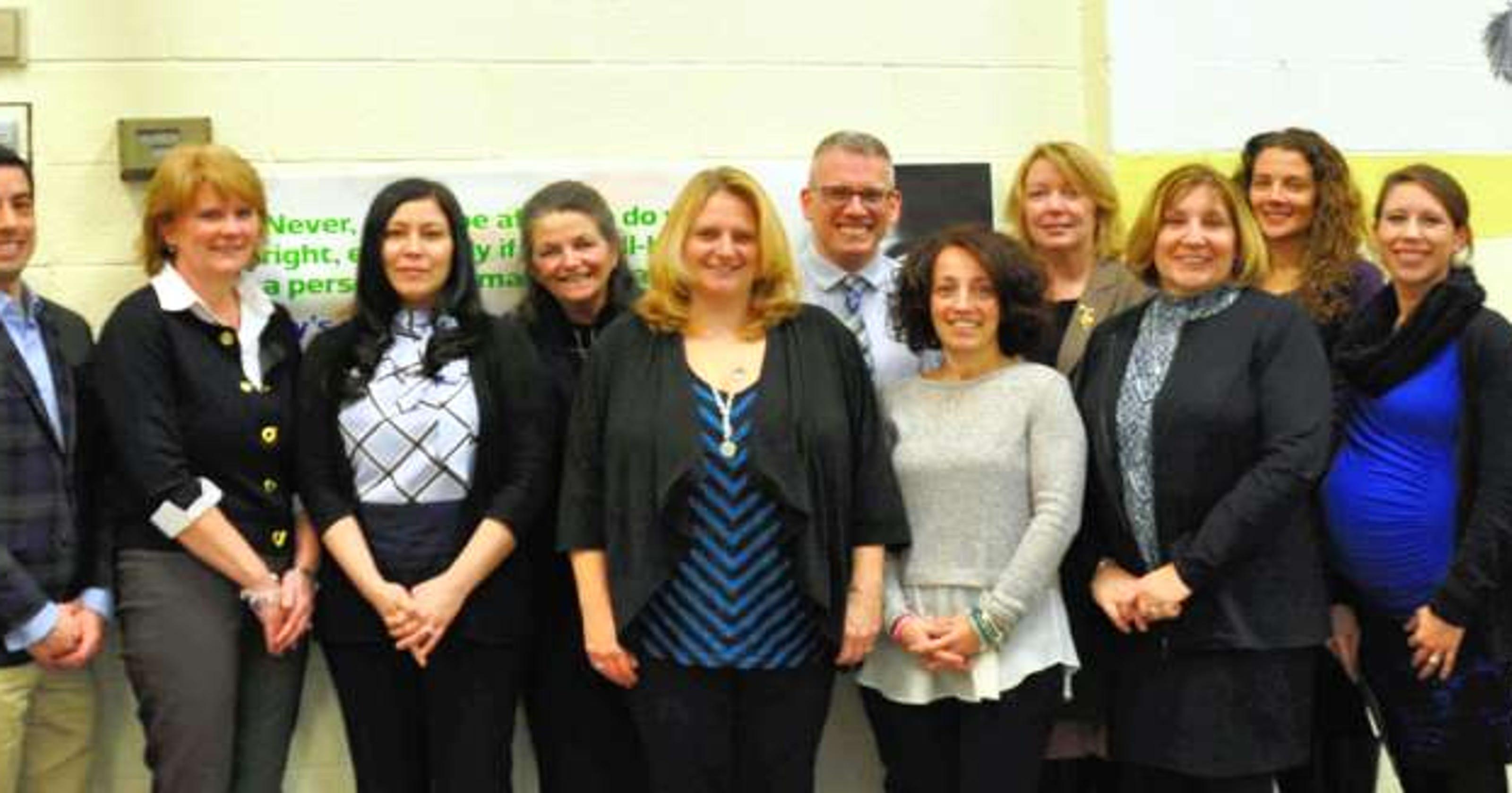 Montville Township teachers are praised as award recipients