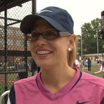 Rep. Kyrsten Sinema, D-Phoenix, has been a regular player in the annual Congressional Women's Softball Game, a charity game against the press.
