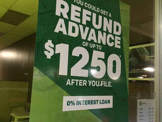 Do you need a refund advance?