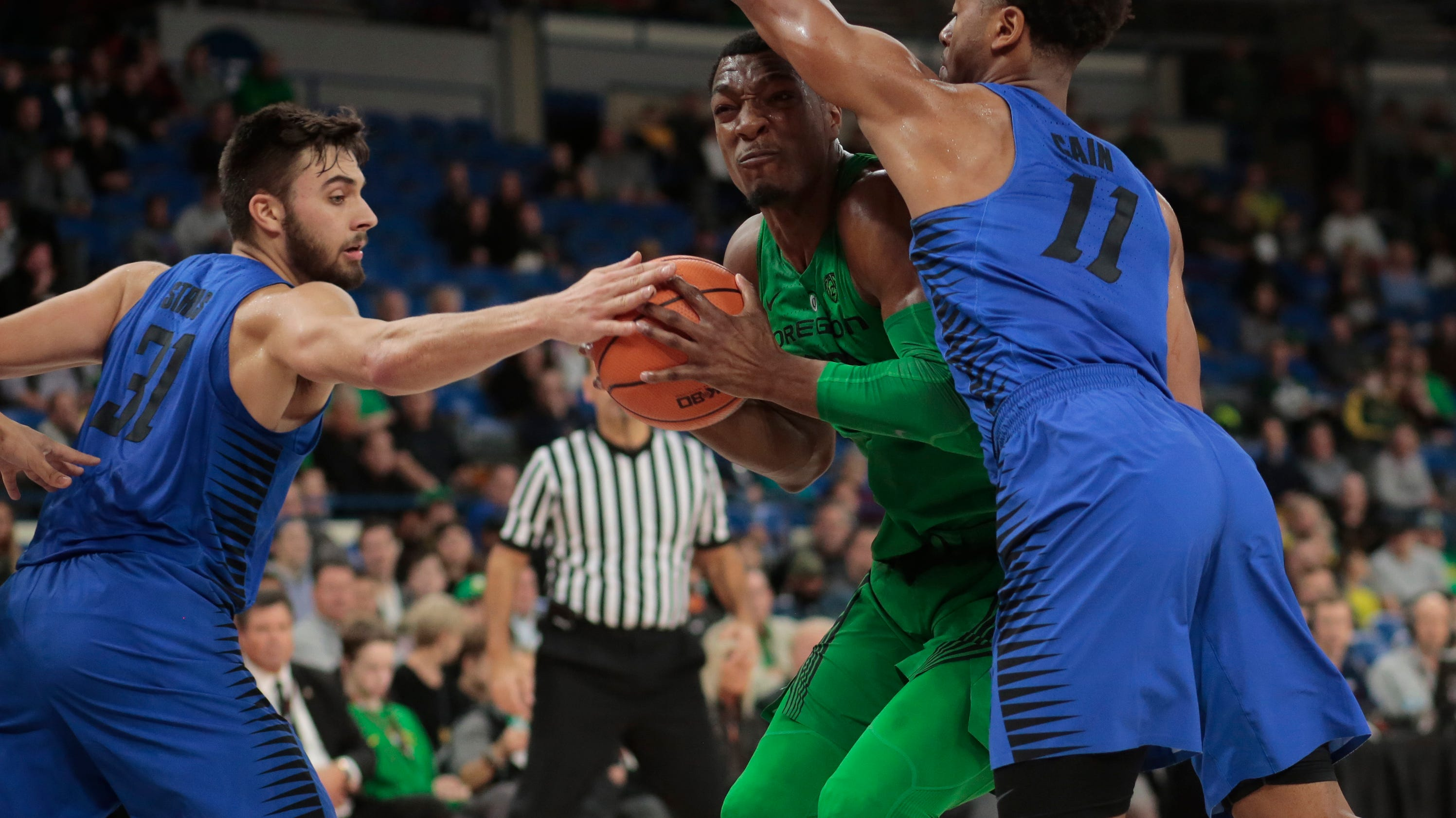 Pritchard Scores 29 As Oregon Outlasts Depaul 89 79 In Ot
