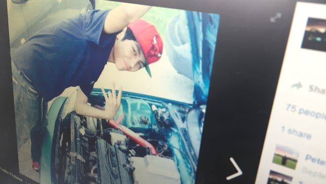 Tony Moran, 17, of St. George is seen in this photo posted on his Facebook page.