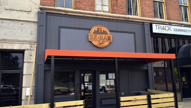 A small patio fronts Rebar Indy, a pour-your-own-beer bar with craft cocktails and bourbon at 20 N. Delaware St., the former location of Paddy's Legal Beagle.