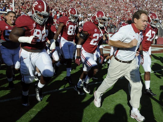 Can coach Nick Saban and the Alabama Crimson Tide rebound from last year's disappointing season?