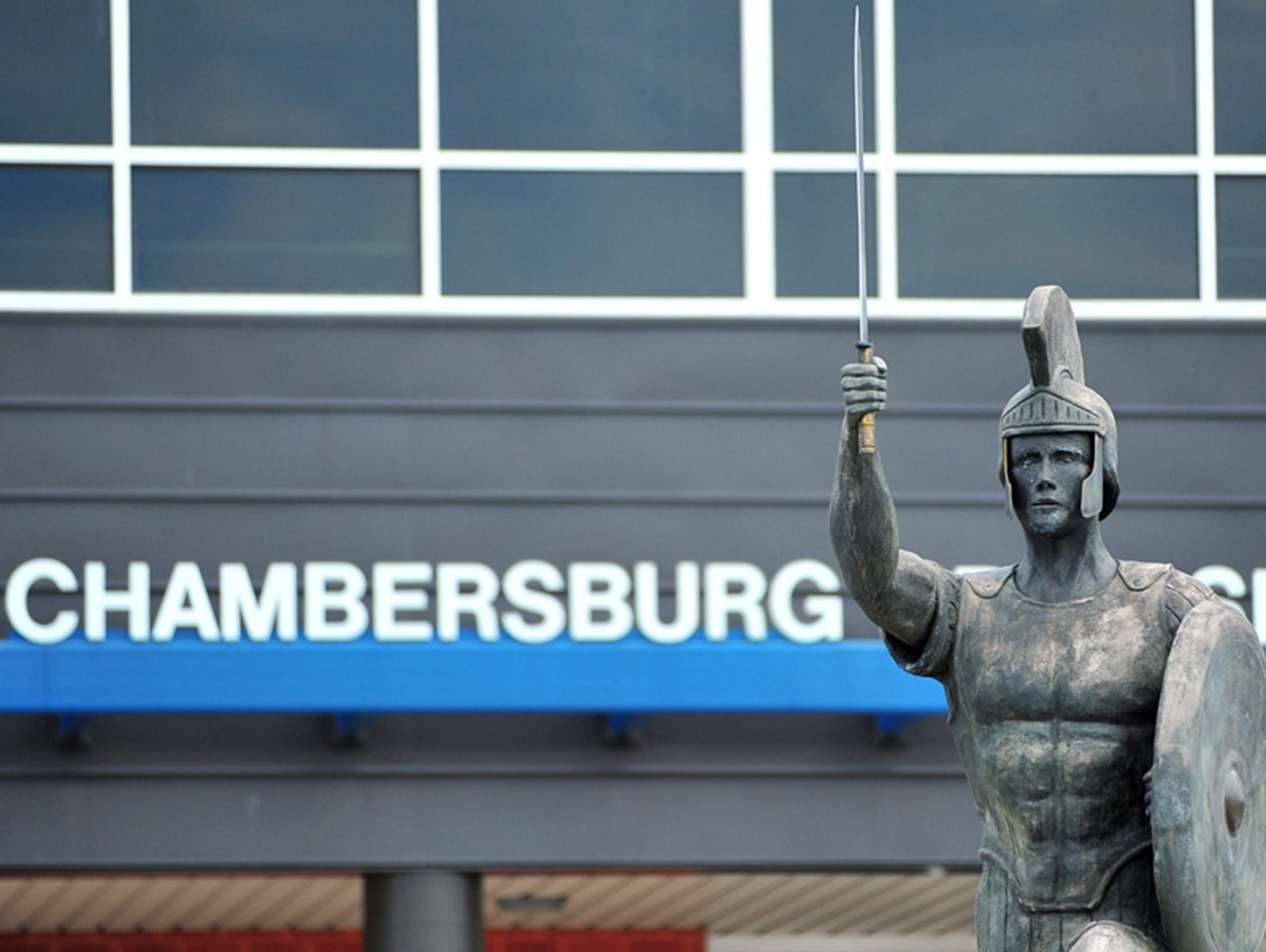 Chambersburg Area Senior High School. File photo 2013,