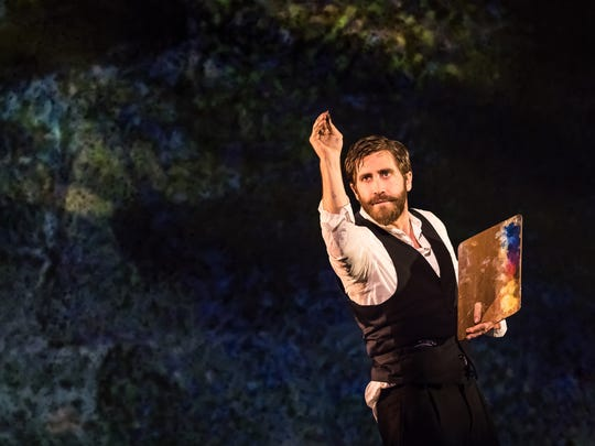 """Jake Gyllenhaal in a scene from """"Sunday in the Park with George."""""""