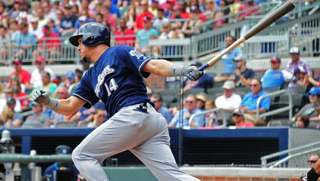 Hernan Perez is part of a deep and versatile Brewers bench that manager Craig Counsell has at his disposal.