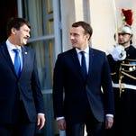 World leaders, Schwarzenegger, gather for Paris climate summit
