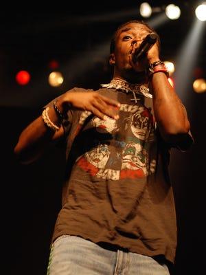 Rapper Lil Uzi Vert performed at the Rave Monday.