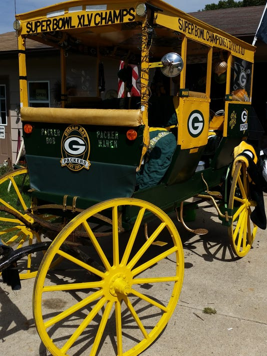 Packers buggy closeup