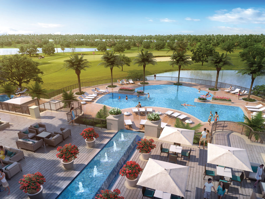 Altaira® – WCI Communities' golf course, pool and clubhouse at The Colony Golf & Bay Club in Naples, Florida