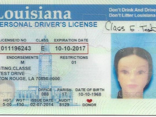 Drivers license renewal louisiana office of motor vehicles for Motor vehicle licence renewal