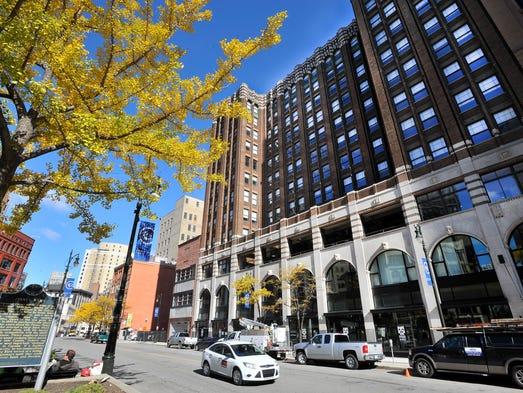 Designed by iconic Detroit architect Albert Kahn, the