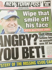 New York Post in advance of the game Thursday.
