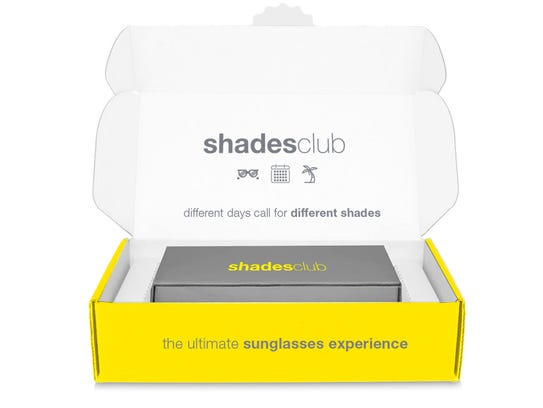 Each month your shadesclub™ box will feature a brand