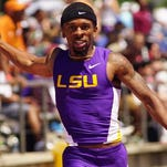 Morgan Wells, a walk on  to the LSU track team, is battling back from a brain tumor.