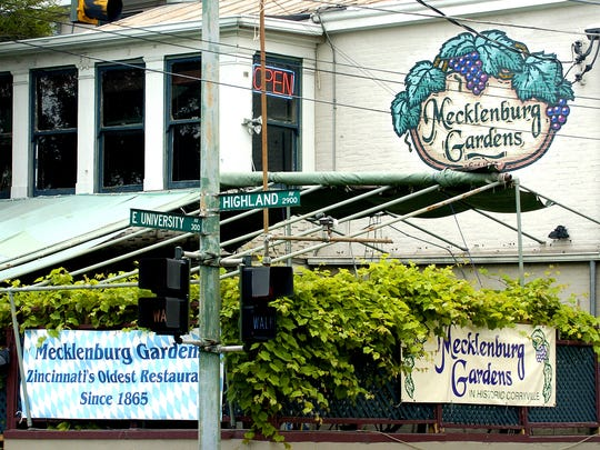 This is the exterior of Mecklenburg Gardens in Corryville.