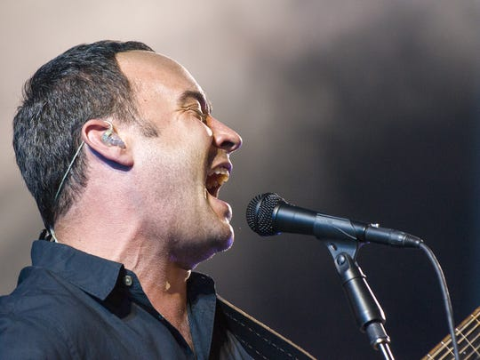 Dave Matthews Band performed Friday, June 21, 2013, at Klipsch Music Center, the first of a two-night stand.