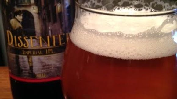 Founders Dissenter is an Imperial Pale Lager