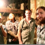 Nick Dittmeier (right) and The Sawdusters perform Saturday at Zanzabar.