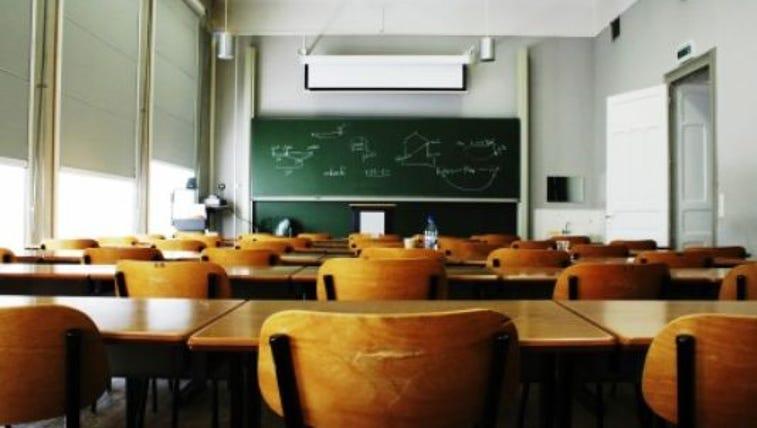 Empty Classroom Gloda Getty Images/iStockphoto